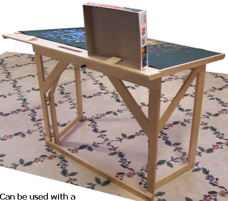 Puzzle Easel Storage